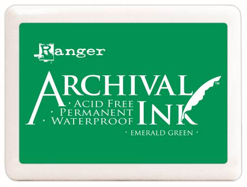 Emerald Green Archival Ink Pad