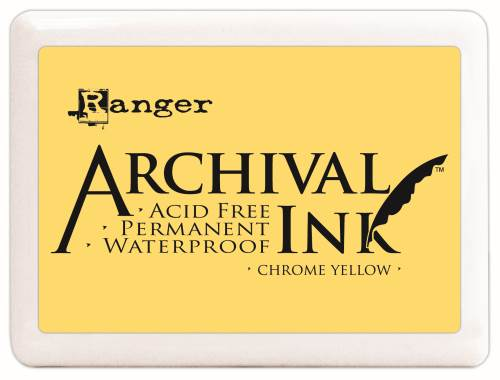 Chrome Yellow Archival Ink Pad