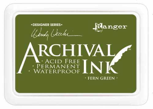 WV Archival Ink Pad - Fern Green