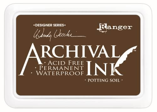 WV Archival Ink Pad - Potting Soil