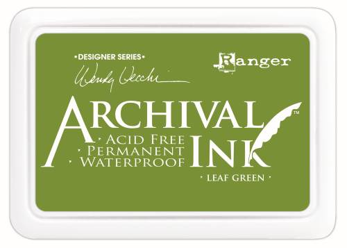 WV Archival Ink Pad - Leaf Green
