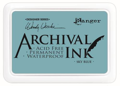 WV Archival Ink Pads - Sky Blue