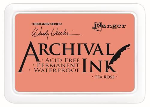 WV Archival Ink Pads - Tea Rose