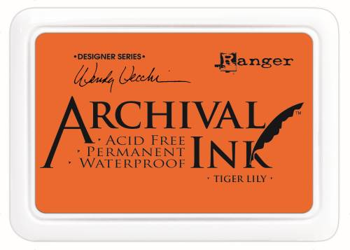 WV Archival Ink Pad - Tiger Lily