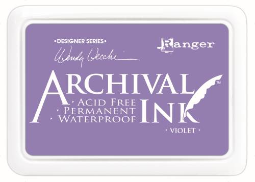 WV Archival Ink Pad - Violet