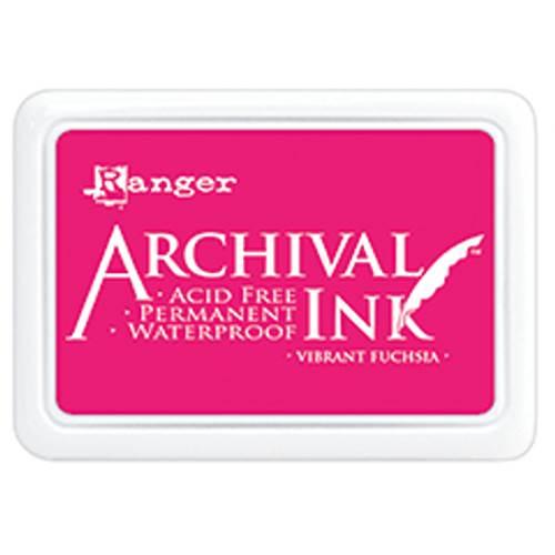 Vibrant Fuchsia Archival Ink Pad