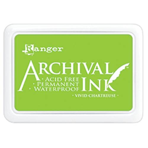 Vivid Chartreuse Archival Ink Pad