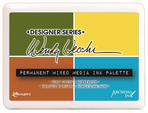 Wendy Vecchi Mixed Media Palette