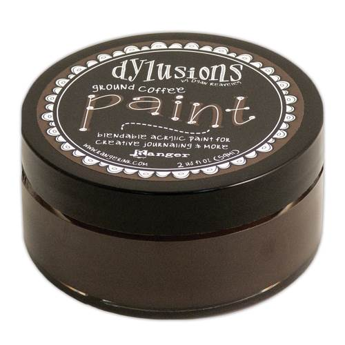 Dylusions Paint Ground Coffee