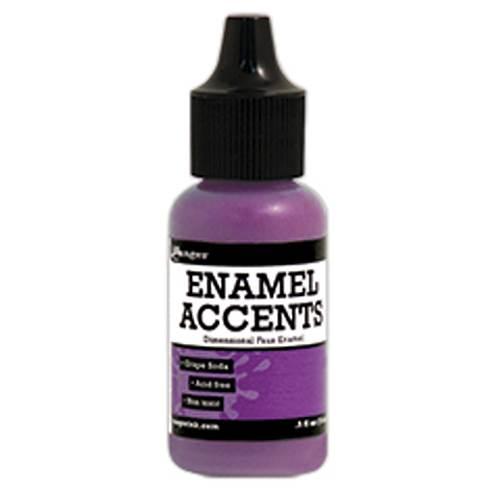 Grape Soda Enamel Accents