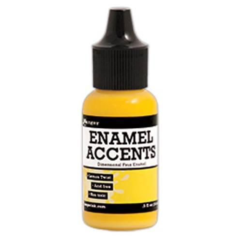 Lemon Twist Enamel Accents