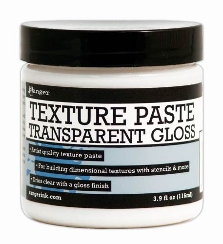 Transparent Gloss Texture Paste