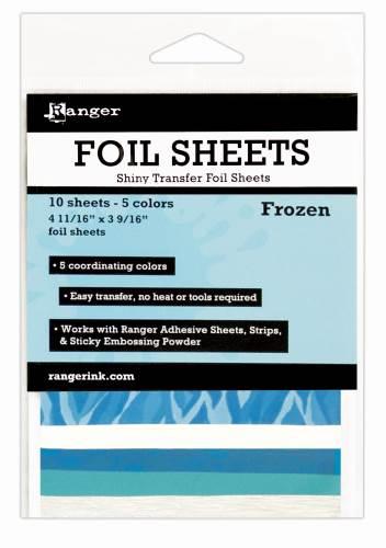 Frozen Foil Transfer Sheets