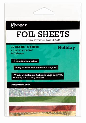 Holiday Foil Transfer Sheets