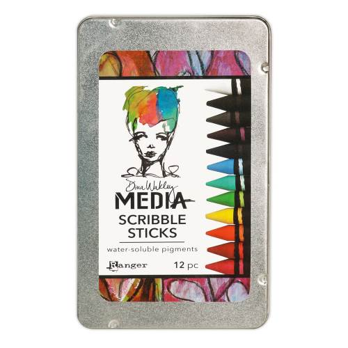 Dina Wakley Media Scribble Sticks