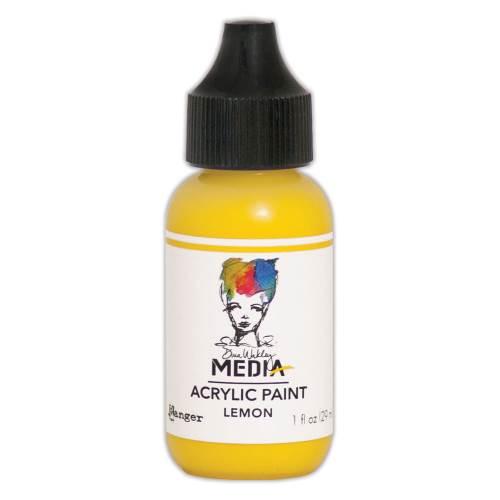 Lemon 1oz Bottled Acrylic Paint