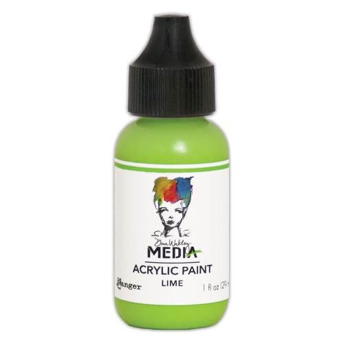 Lime 1oz Bottled Acrylic Paint