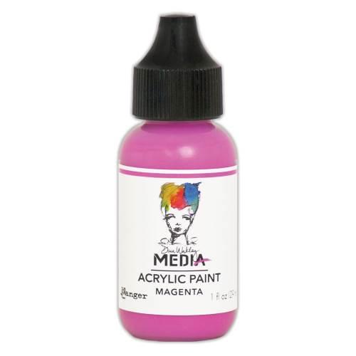 Magenta 1oz Bottled Acrylic Paint