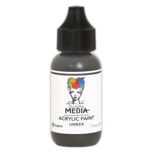 Umber 1oz Bottled Acrylic Paint