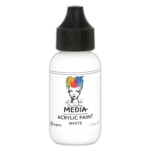 White 1oz Bottled Acrylic Paint