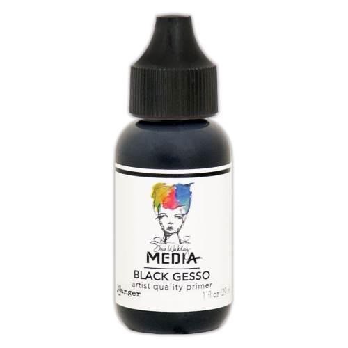 Black Gesso 1oz Bottled Medium