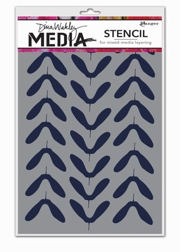 Dina Media Stencils - Spinners