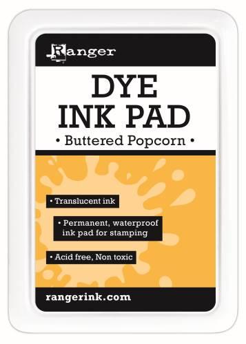 Ranger Dye Ink Pads - Buttered Popcorn