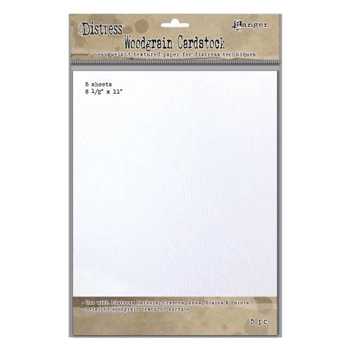Distress Woodgrain Paper