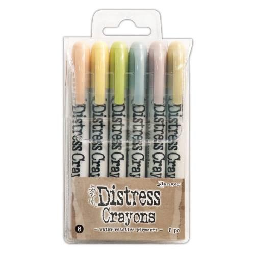 Distress Crayons Set #8