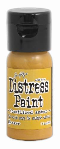 Fossilized Amber Distress Paint
