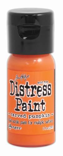Carved Pumpkin Distress Paint