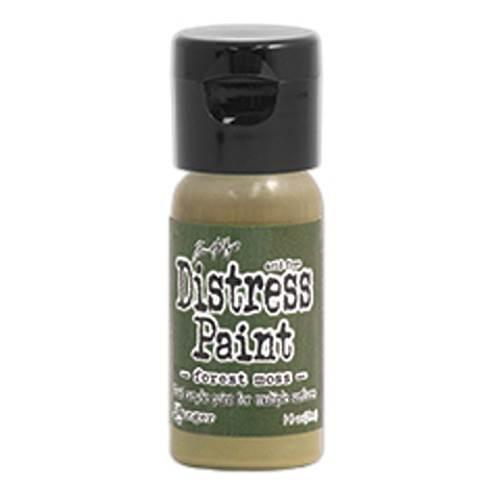 Forest Moss 1 oz. Distress Paint (Flip Tops)