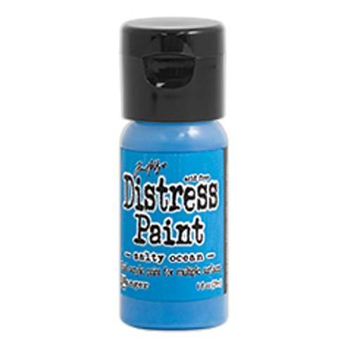 Salty Ocean 1 oz. Distress Paint (Flip Tops)