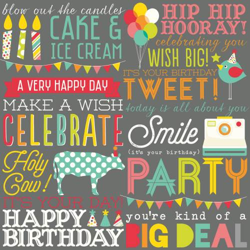 Let's Party - Hip Hip Horray! Paper