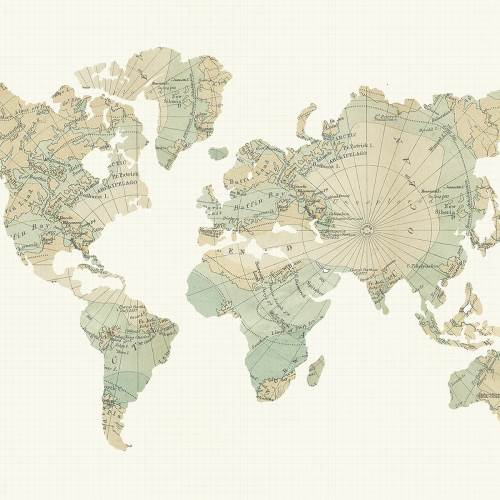 You Are Here! - Around the World Paper