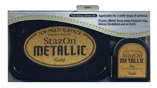 Metallic Gold Stazon Pad & Inker