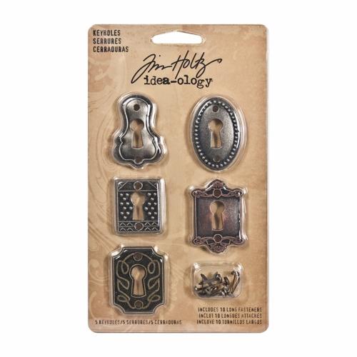 Keyholes (5 keyholes, 10 long fasteners)