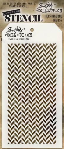Layered Stencils: Herringbone