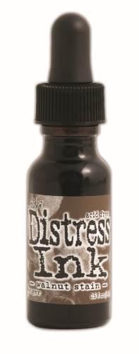 Walnut Stain 1/2 oz.Distress Ink Reinker