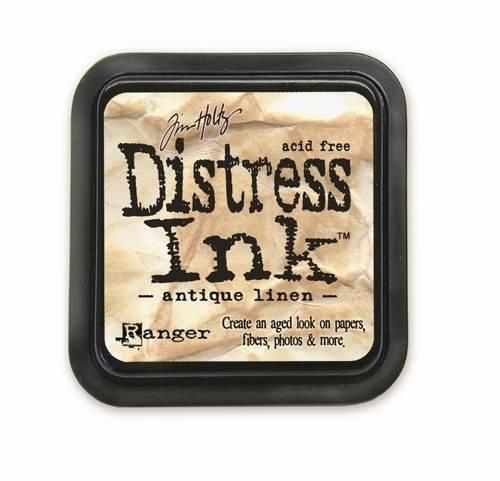 Antique Linen 3x3 Distress Ink Pad