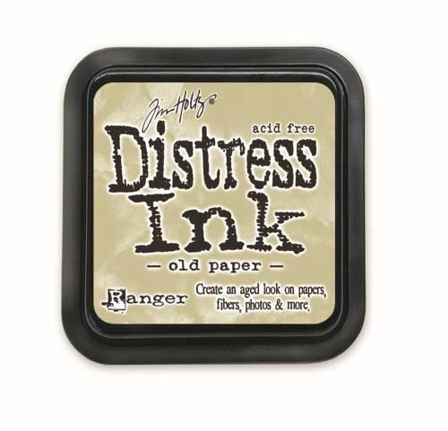 Old Paper 3x3 Distress Ink Pad