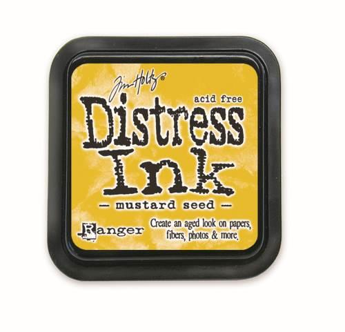 Mustard Seed 3x3 Distress Ink Pad