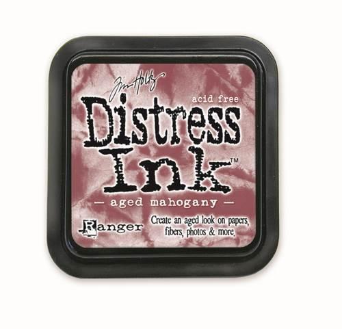 Aged Mahogany  3x3 Distress Ink Pad