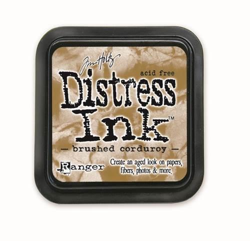 Brushed Corduroy 3x3 Distress Ink Pad