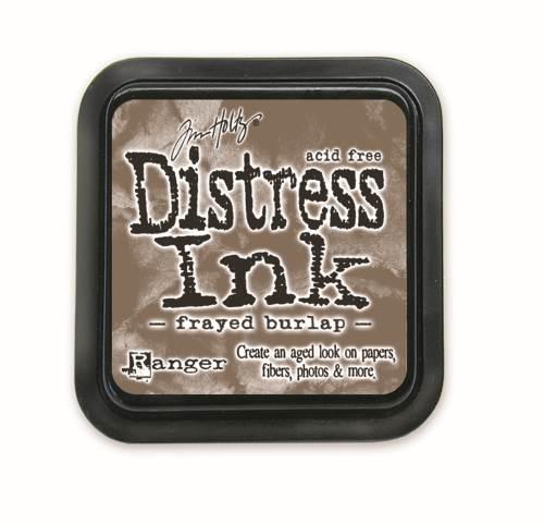 Frayed Burlap 3x3 Distress Ink Pad