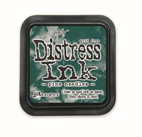 Pine Needles 3x3 Distress Ink Pad