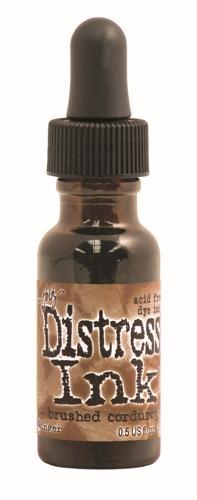 Brushed Corduroy 1/2 oz.Distress Ink Reinker