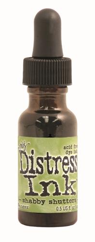 Shabby Shutters 1/2 oz.Distress Ink Reinker