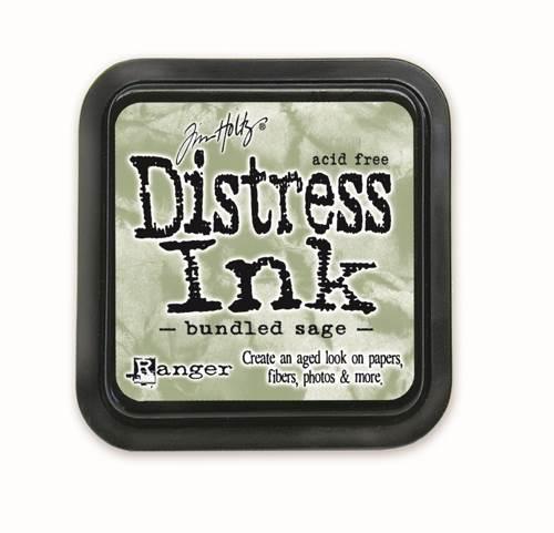 Bundled Sage 3x3 Distress Ink Pad