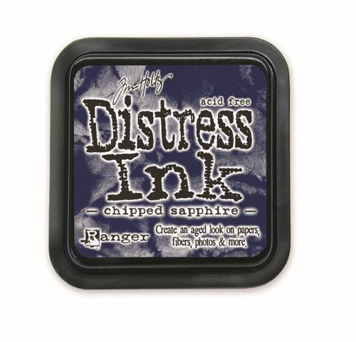 Chipped Sapphire 3x3 Distress Ink Pad